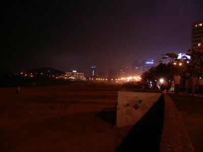 海雲台の夜景です。
