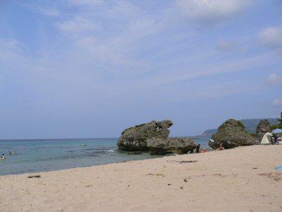 今日も快晴!大浜海岸。