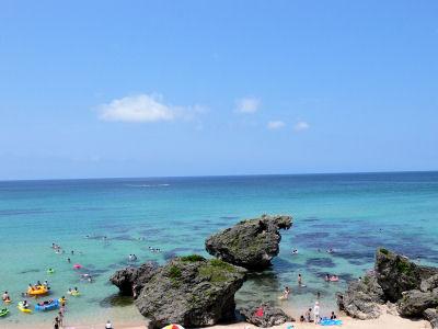 今日もキレイだった大浜海岸