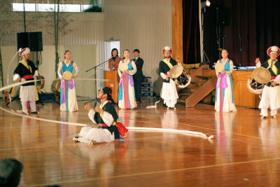 一番盛り上がった全羅南道立国楽団のサムルノリ