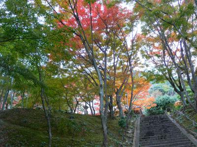 両足寺。階段あたりの雰囲気がとてもいいかんじ
